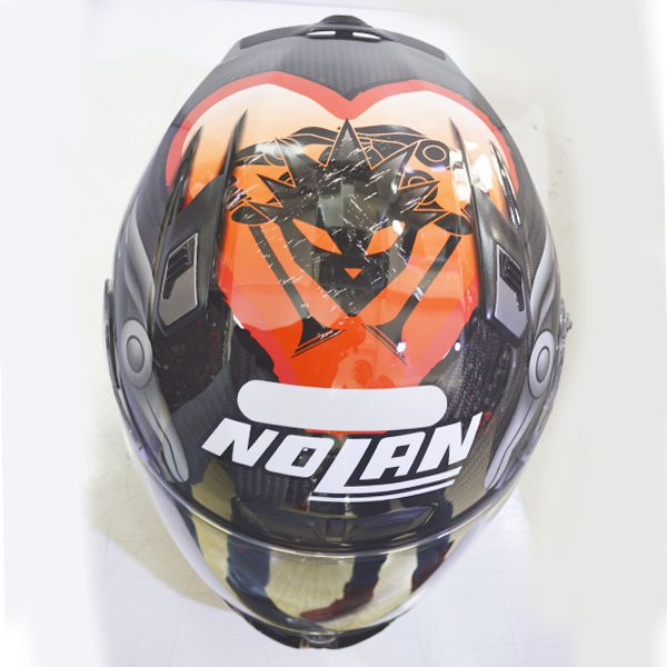 Capacete X-Lite X-803 Carbon Melandri Oficial - Ganhe Balaclava X-Lite - MegaOferta!   - Motosports