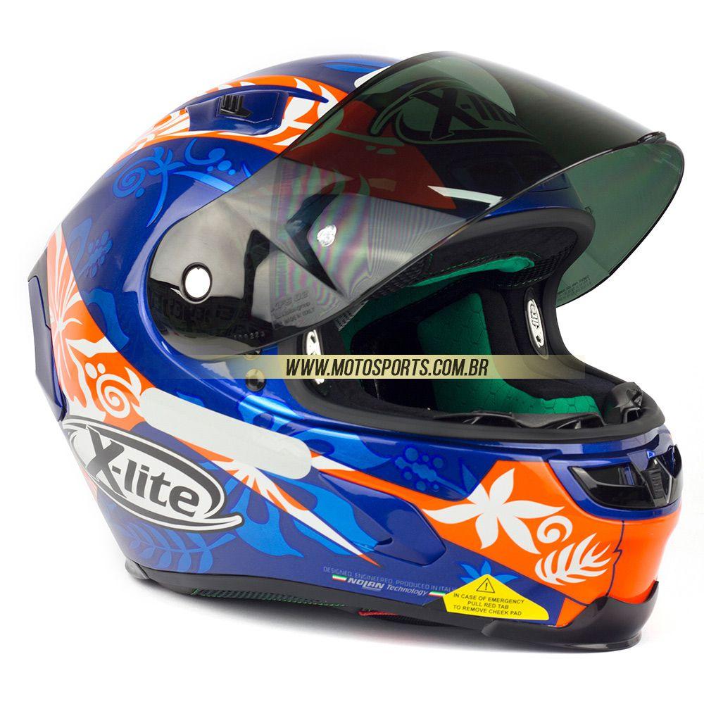 Capacete X-Lite X-803 Danilo Petrucci Oficial - Ganhe Balaclava X-Lite - MegaOferta!   - Motosports