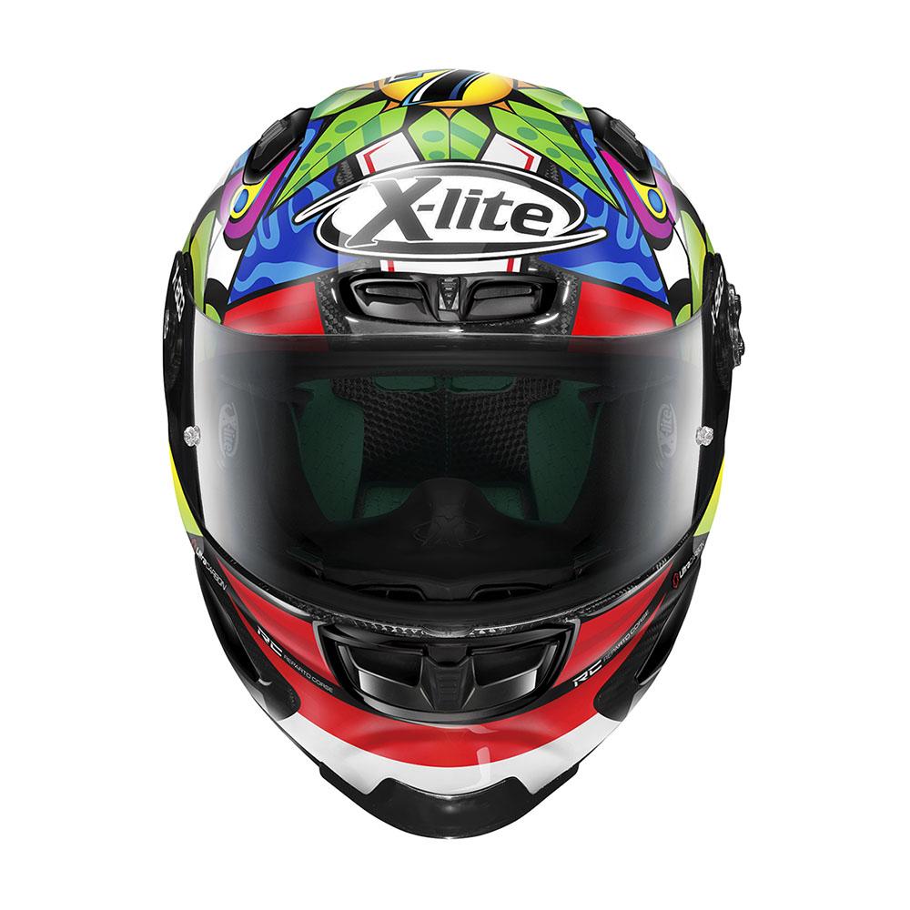 Capacete X-Lite X-803 RS Ultra Carbon Chaz Davies Piloto - (Grupo Nolan) - Ganhe Touca Balaclava  - Motosports