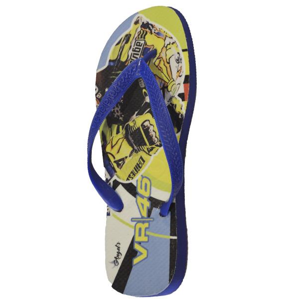 Chinelo Valentino Rossi Azul  - Motosports