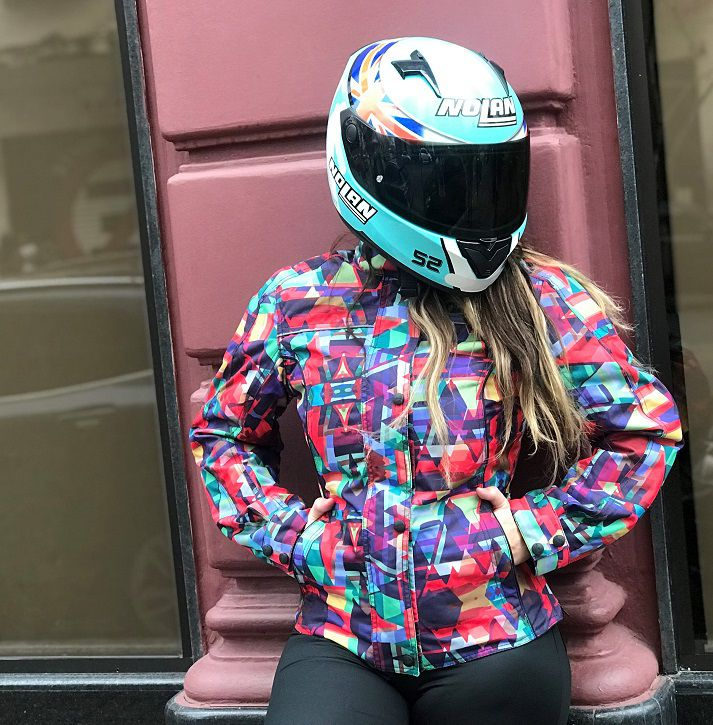 JAQUETA TUTTO NEW SECCA - PSICODÉLICA - FEMININA  - Motosports