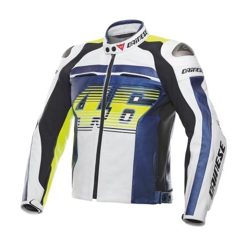 JAQUETA  DAINESE VR46 D1 PELLE  - Motosports