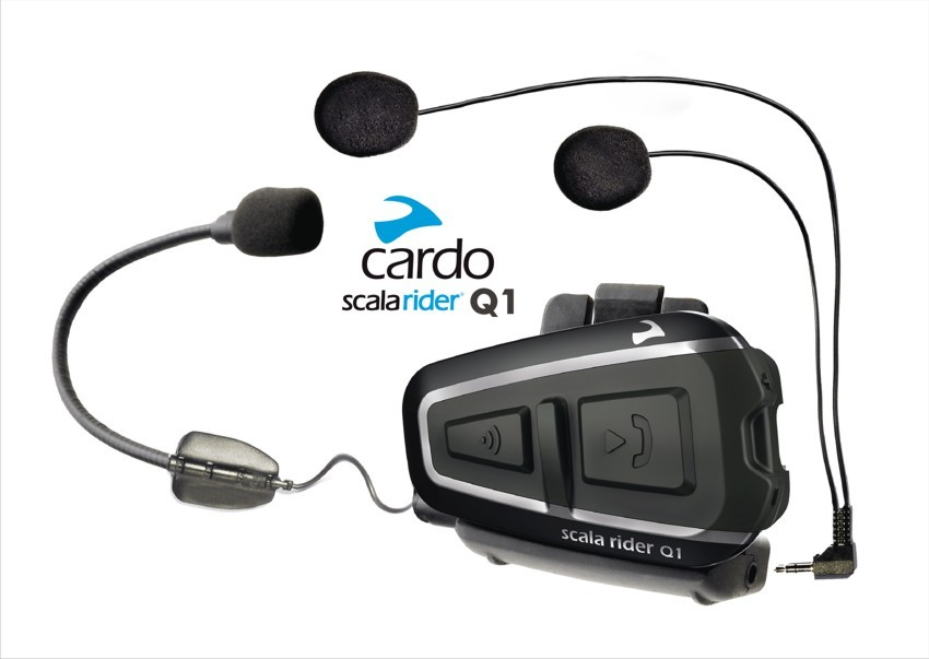 Intercomunicador Cardo Q1 Power Set  - Motosports