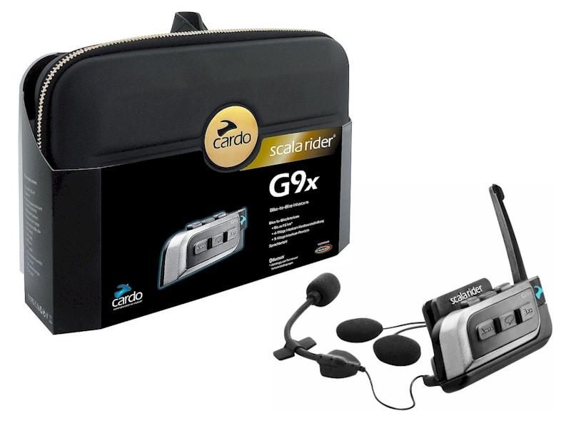 Intercomunicador Cardo Scala Rider G9X  - Motosports