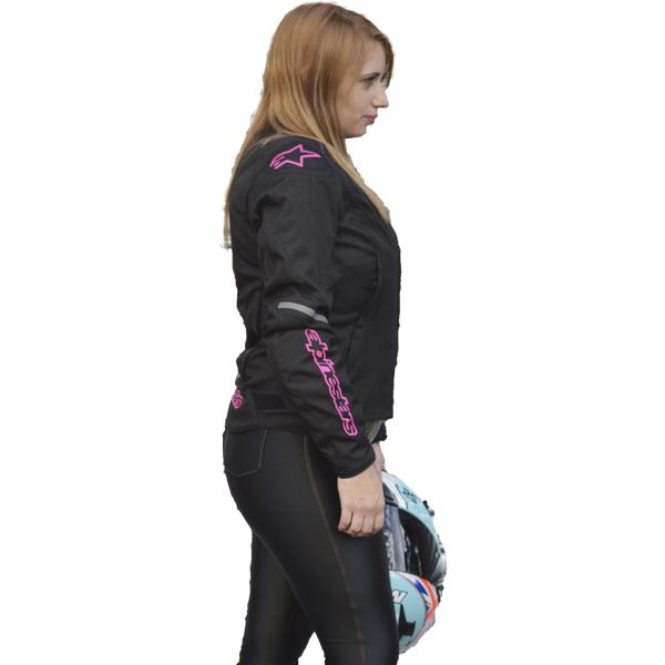 JAQUETA ALPINESTARS STELLA CALADAN WP (TRICOLOR VERMELHA/IMPERMEÁVEL) LANÇAMENTO 2016!!  - Motosports