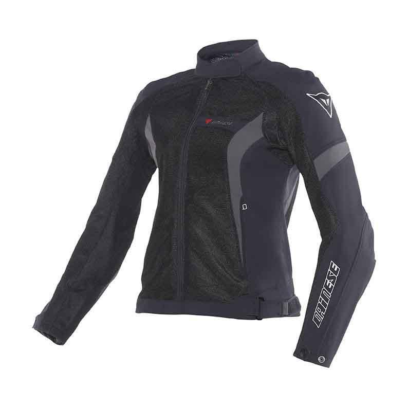 JAQUETA DAINESE AIR CRONO TEX LADY PRETA  - Motosports