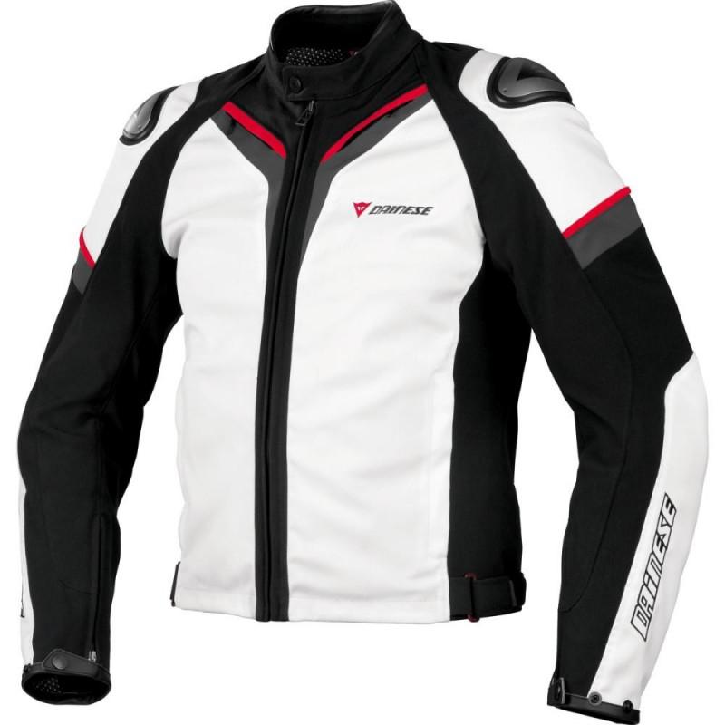 JAQUETA DAINESE ASPIDE TEX BRANCA (Pré-venda)  - Motosports
