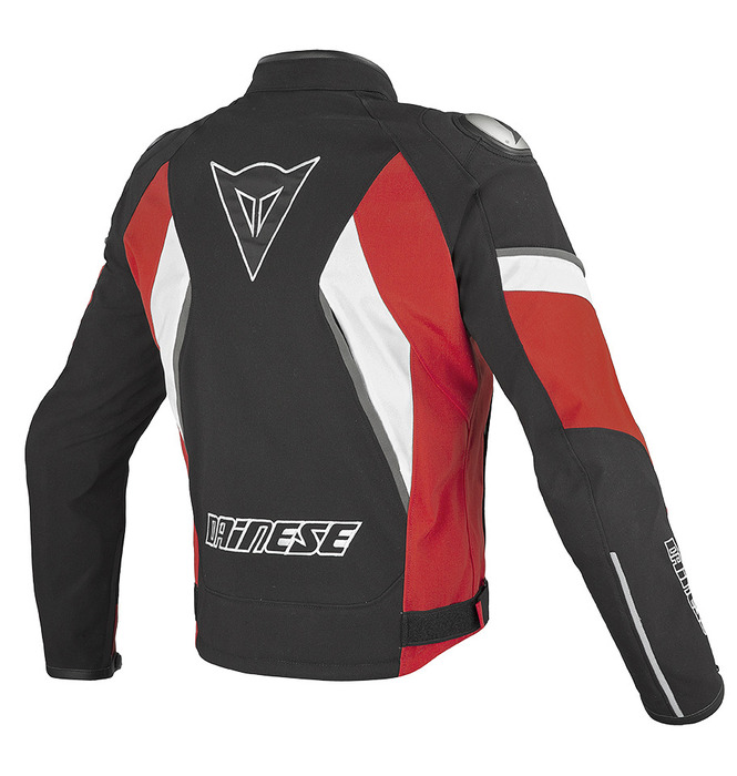 JAQUETA DAINESE ASPIDE TEX VERMELHA   - Motosports
