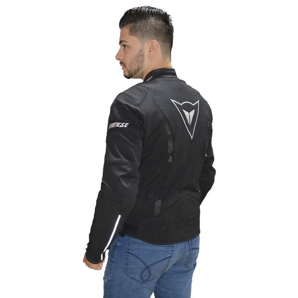 JAQUETA DAINESE AVRO TEX PRETA   - Motosports