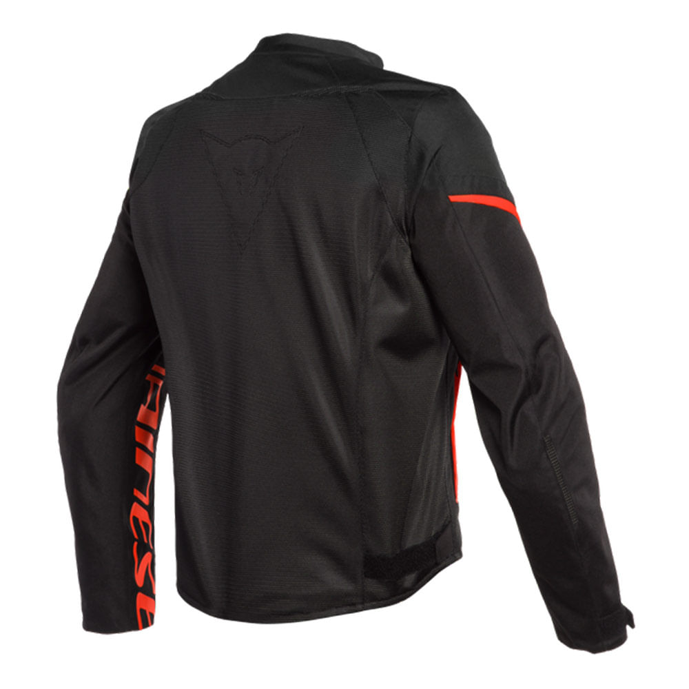 JAQUETA DAINESE BORA AIR BLACK / FLUO RED  - Motosports