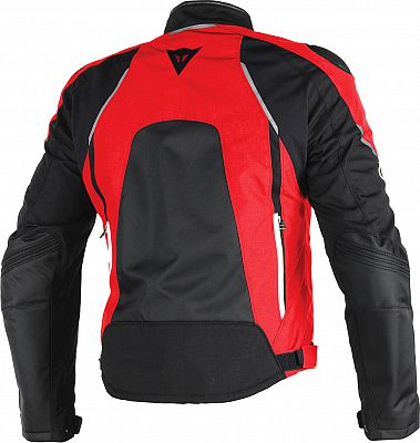 JAQUETA DAINESE HAWKER D-DRY BLK/RED/WHITE  - Motosports