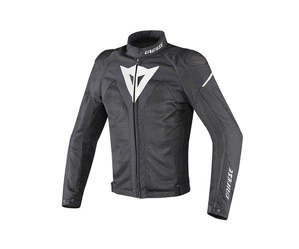 JAQUETA DAINESE HYPER FLUX D-DRY-  BLACK / WHITE   - Motosports