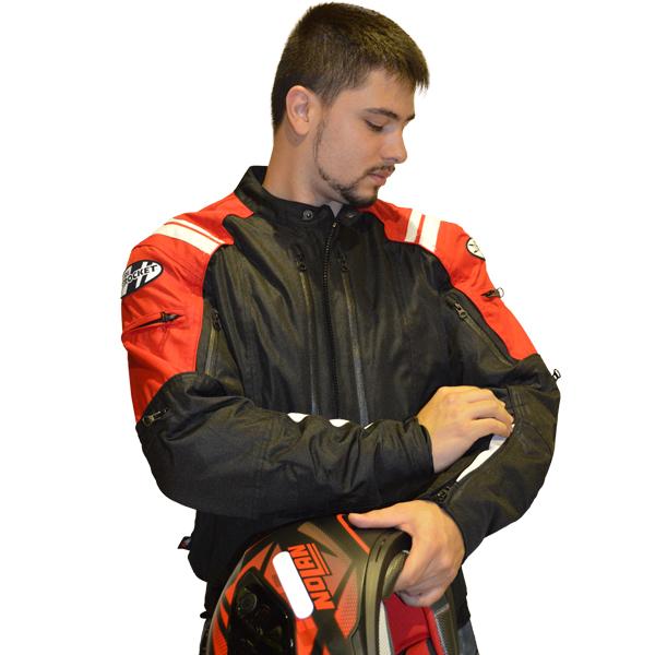 Jaqueta Joe Rocket Atomic 4.0 - Vermelha  - Motosports