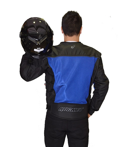 Jaqueta Joe Rocket Velocity Azul  - Motosports