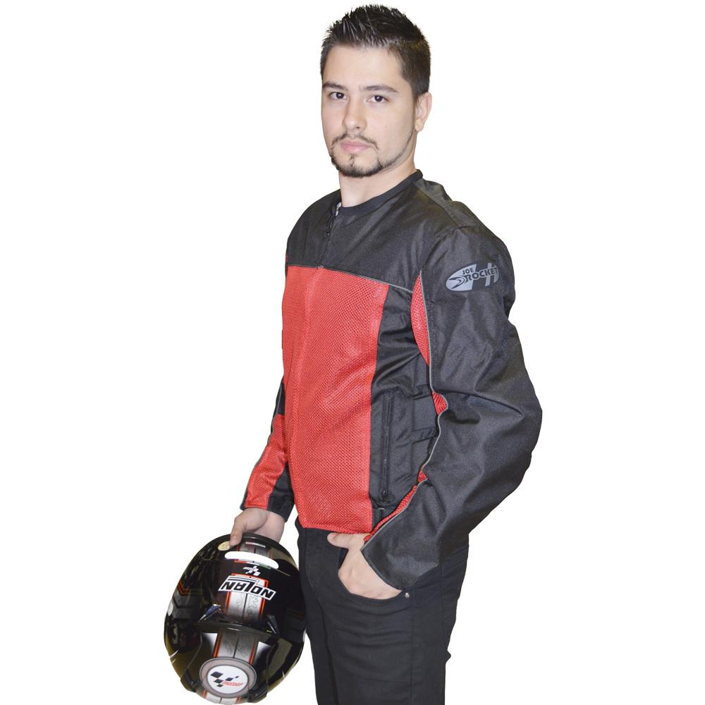 Jaqueta Joe Rocket Velocity Vermelha  - Motosports