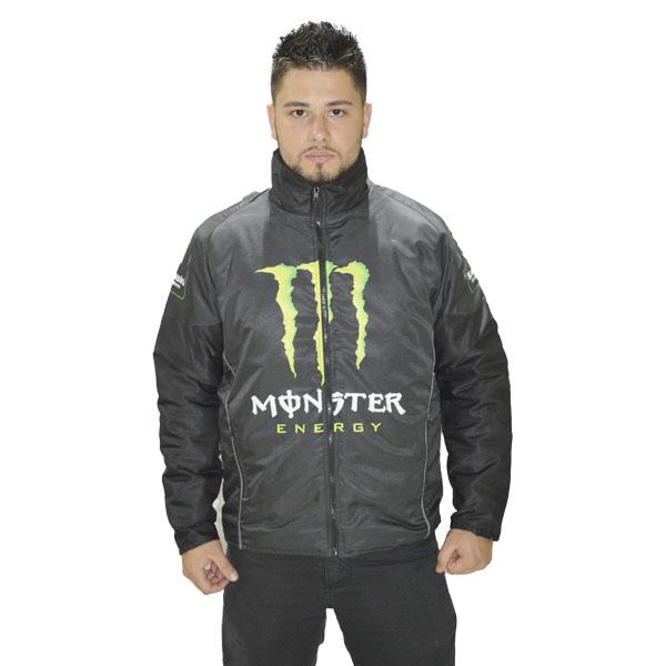 JAQUETA CASUAL MONSTER PRETA  - Motosports
