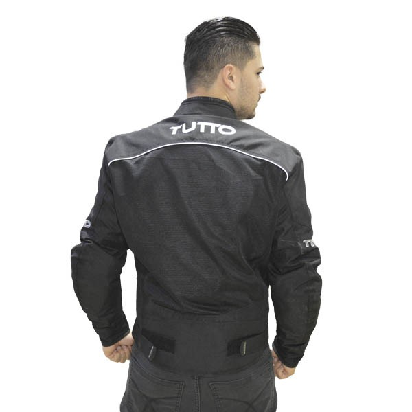 JAQUETA TUTTO MOTO AIR MAX IMPERMEÁVEL - VERÃO - IMPERMEÁVEL FORRO REMOVÍVEL  - Motosports