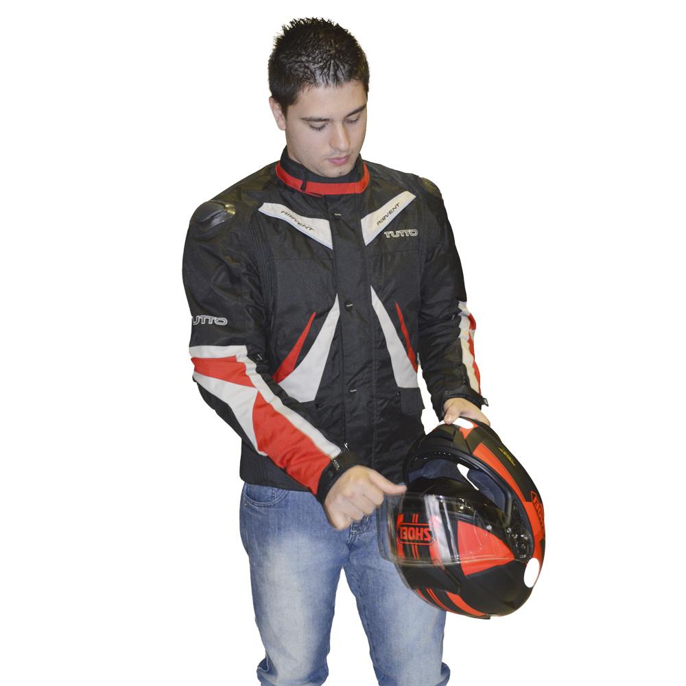 JAQUETA TUTTO NAPOLI VERMELHA  - Motosports