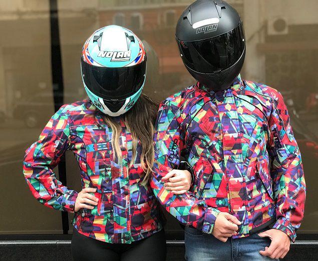 JAQUETA TUTTO NEW SECCA - PSICODÉLICA  - Motosports