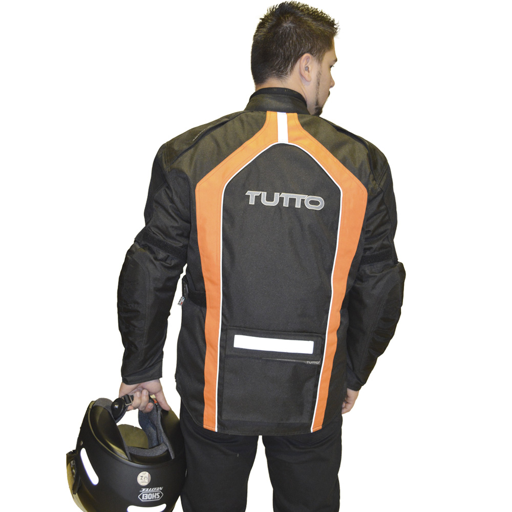 JAQUETA TUTTO VARESE LARANJA  - Motosports