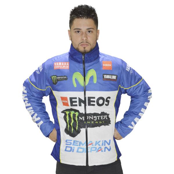 JAQUETA  CASUAL YAMAHA AZUL   - Motosports