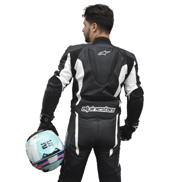 KIT - MACACÃO ALPINESTARS CHALLENGER + CAPACETE NOLAN N64 GEMINI RÉPLICA - D. KENT   - Motosports