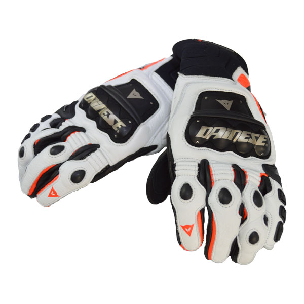 Luva Dainese Race Pro-In BLACK\FLUO-RED\WHITE  - Motosports