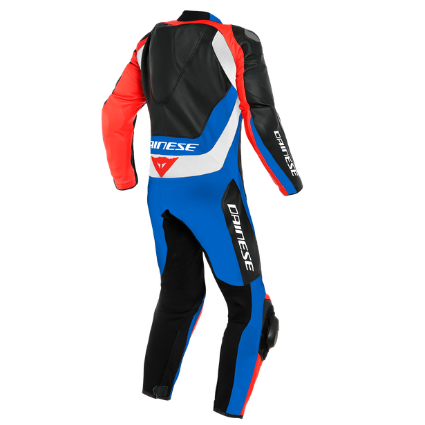 Macacão Dainese Pro Assen 2 Perforated Leather BLUE / RED  - Motosports