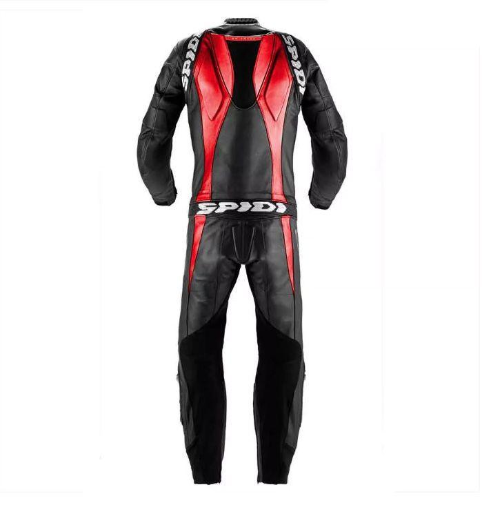 Macacão Spidi 1 PÇ Super Sport Touring Preto c/ Vermelho (BLACK FRIDAY)  - Motosports