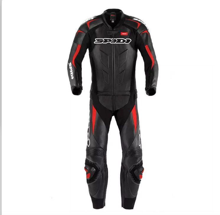 Macacão Spidi Super Sport Touring Preto c/ Vermelho (BLACK FRIDAY)  - Motosports