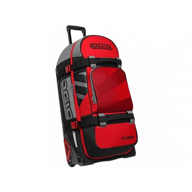 MALA OGIO RIG9800 - WHEELED BAG RED - LANÇAMENTO  - Motosports