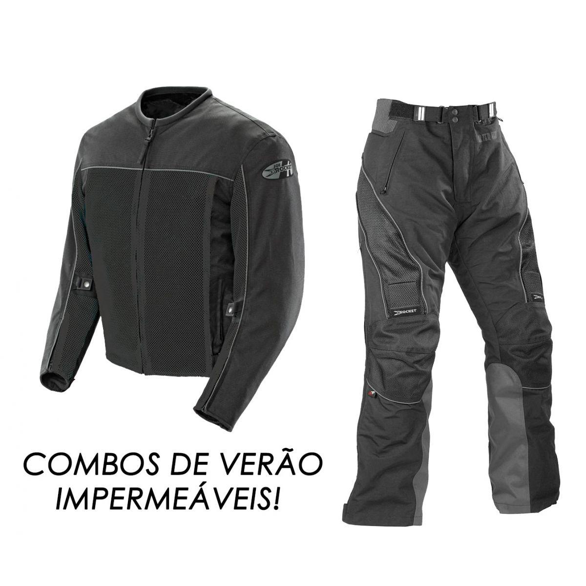 Promoção Combo Verão Jaqueta Joe Rocket Velocity + Calça Alter Ego 2.0  - Motosports