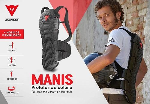PROTETOR DE COLUNA DAINESE MANIS  - Motosports