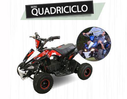 Quadriciclo Elétrico Qua Tronik 350W 24V  - Motosports