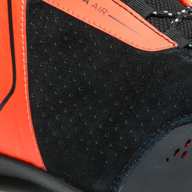 TÊNIS DAINESE ENERGYCA AIR BLACK / FLUO RED  - Motosports
