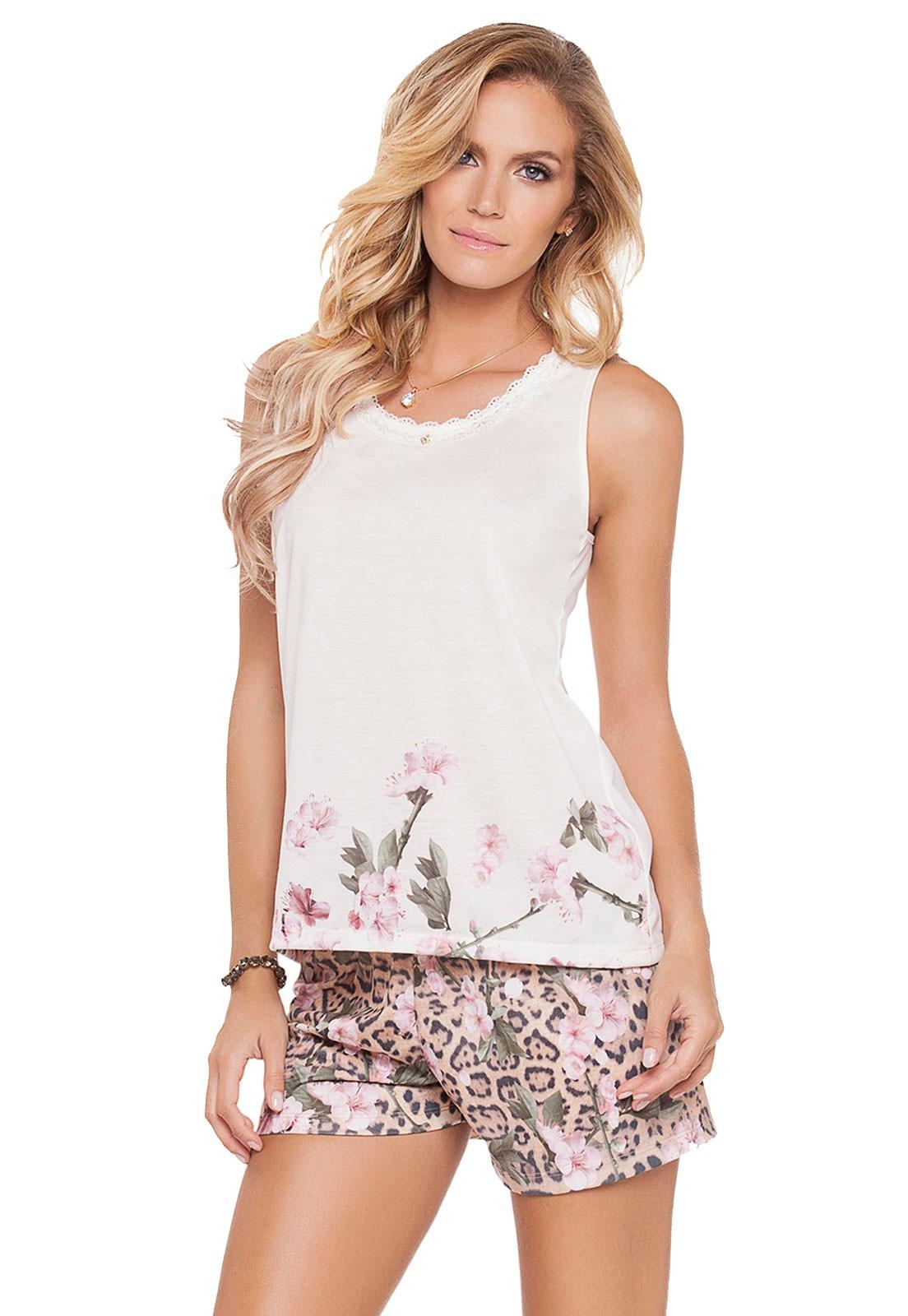 Pijama Regata Wildflower
