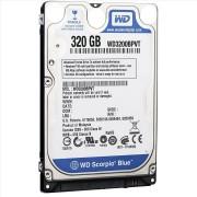 HD 320GB - Western Digital (Scorpio Blue)