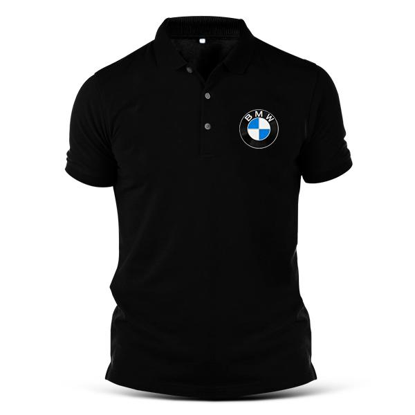 Camisa Pólo Malha Piquet - BMW