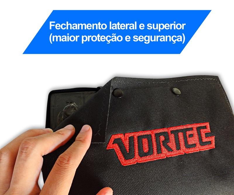 Capa De Bateria Bordada Vortec (Blazer/S10)