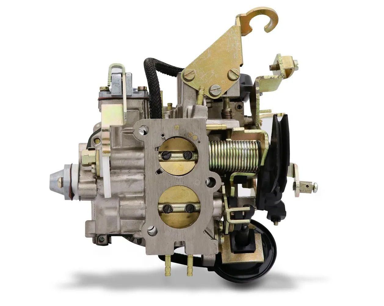 Carburador 2E Santana 88 Em Diante Álcool Mecar Similar Brosol