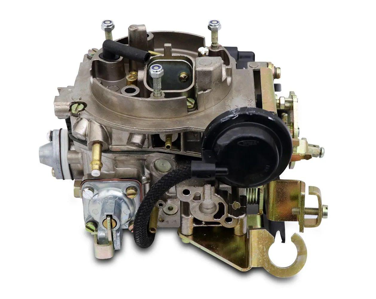 Carburador 2E Santana 88 Em Diante Gasolina Mecar Similar Brosol