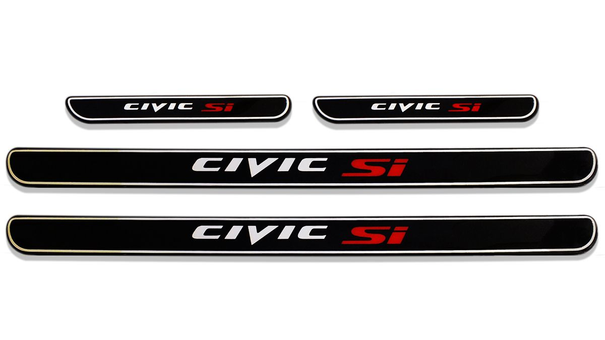 Jogo De Soleiras Personalizadas New Civic Si