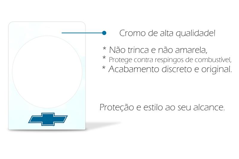Protetor Bocal Tanque Opala Protege Pintura Contra Combustível
