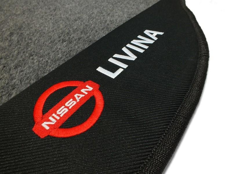 Tapete Porta Malas Nissan Livina
