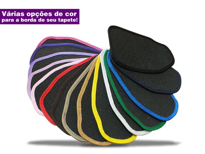 Tapetes Chevrolet Opala Caravan Borracha Texturizada 5 Peças
