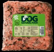 01 Pacote 200g  (Carne, Frango ou Suíno)