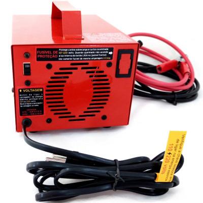 Carregador de Bateria 12 volts 10A - Automático Inteligente com Flutuador C/ REATIVADOR - PR10   - Fabrica De Carregador