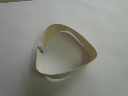 Fita de Entrada de algodão com grampo em inox da calandra 4520/30 e 8030  - Mamute Equipamentos - Loja Virtual