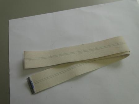 Fita de Saida de algodão com grampo de inox da calandra 4520/30  - Mamute Equipamentos - Loja Virtual