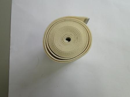 Fita Nomex 200mm com grampo de inox da calandra 4520/30  - Mamute Equipamentos - Loja Virtual